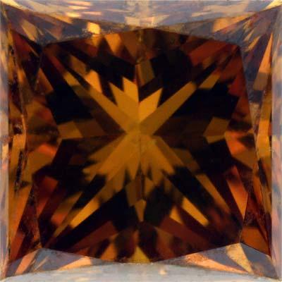 Fancy Orange Coloured Diamond