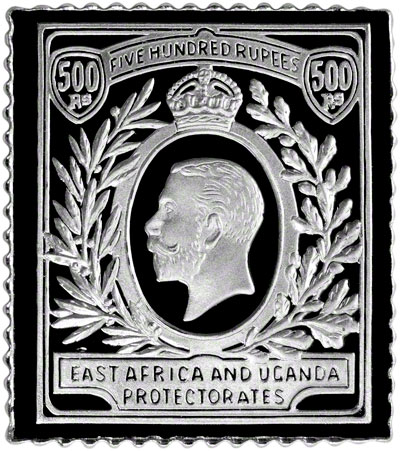 100 Greatest Stamps Of The World Sterling Silver