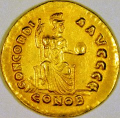 Concord or Constantinopolis Seated