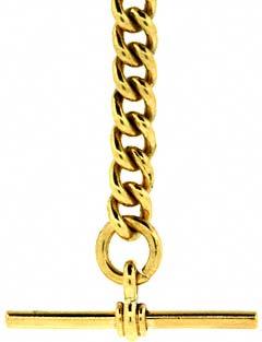 Half Albert Graduated Curb Chain