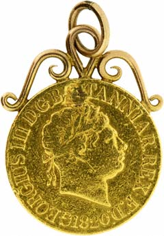 1820 Sovereign Pendant