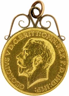 1914 Sovereign Pendant