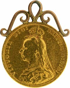 1893 Sovereign Pendant