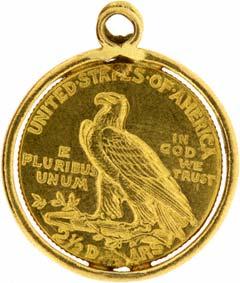 1911 $2<sup>1</sup>/<sub>2</sub> Pendant