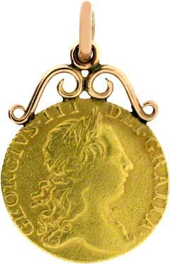 1773 Guinea Pendant